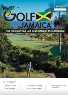 The Tryall Club on the cover of Golf Jamaica magazine.