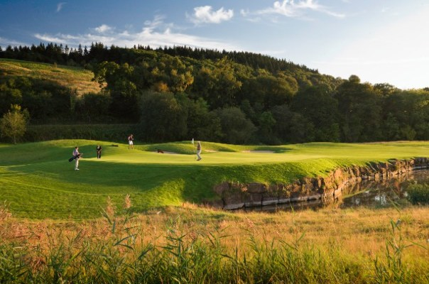 Celtic Manor 14th hole Ryder Cup Course (Image: Celtic Manor)