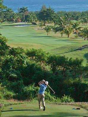 Tryall Club Jamaica signature golf hole. (Image: The Tryall Club)