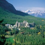 Fairmont Banff Springs in Banff, Alberta Canada