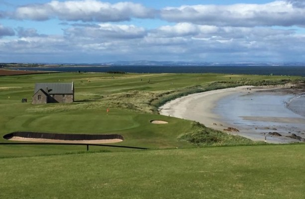 Balcomie Links at Crail Golfing Society, Scotland