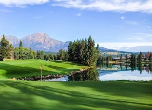 Fairmont Jasper Park Lodge golf course in Alberta Canada