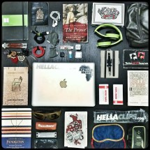 """Here are all my """"Important"""" material items. I enjoy having each of these items, as they each have a purpose. However, I know that if they were to ever be """"deleted"""" from my life I would be just fine."""