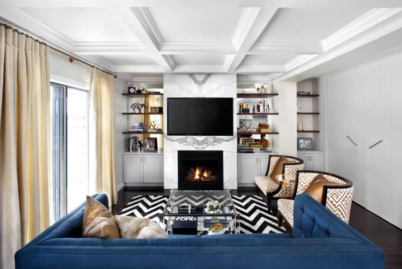 Designer Space Gold Rush – Home Trends Magazine