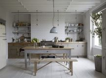 Painted Kitchen Makeovers - Home Trends Magazine