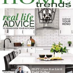Kitchen Magazine Island Counter Bath 2018 Home Trends