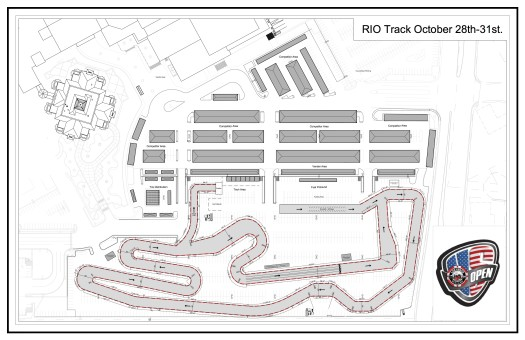 MaxSpeed Releases Track Layout for US Open of Las Vegas