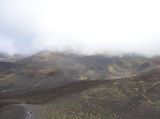 The 'view' from Mt Etna. Photo: CanadianKate
