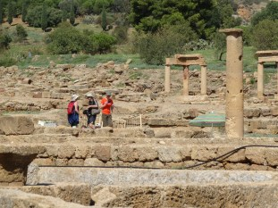 Hellenistic-Roman town adjoining Valle dei Templi. Photo: CanadianKate