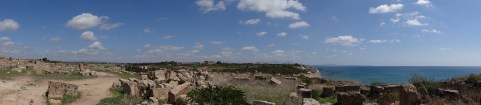 Panoramic view from the city ruins of Selinunte, Sicily. Photo: CanadianKate