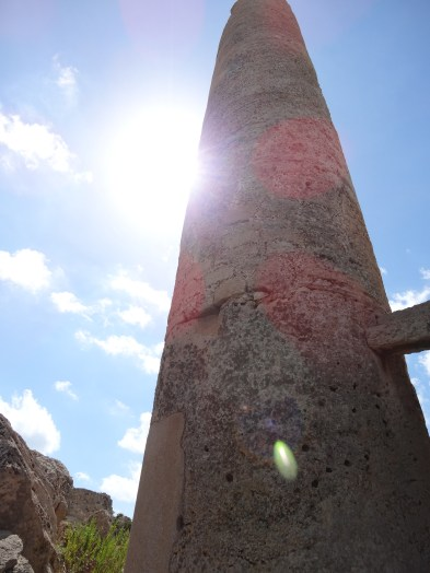 A Pillar in Selinunte, Sicily. Photo: CanadianKate