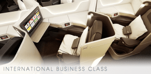 Air Canada 787 Business Class