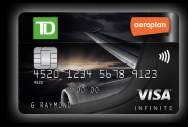 Potential TD Aeroplan Visa Credit Card Art