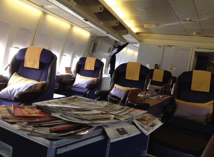 Thai First Class Ground Services 747