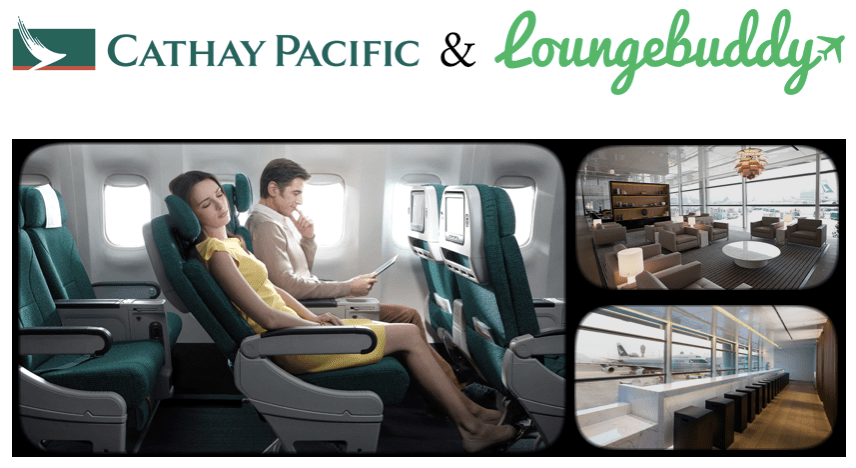 LoungeBuddy and Cathay Pacific Sweepstakes