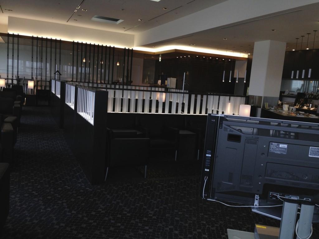 ANA Suites Lounge Tokyo Narita Seating