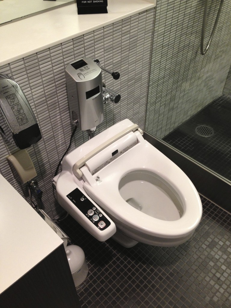 ANA Suites Lounge Toilet
