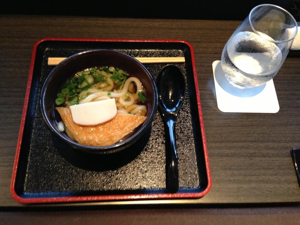 ANA Suites Lounge Tokyo Narita Udon