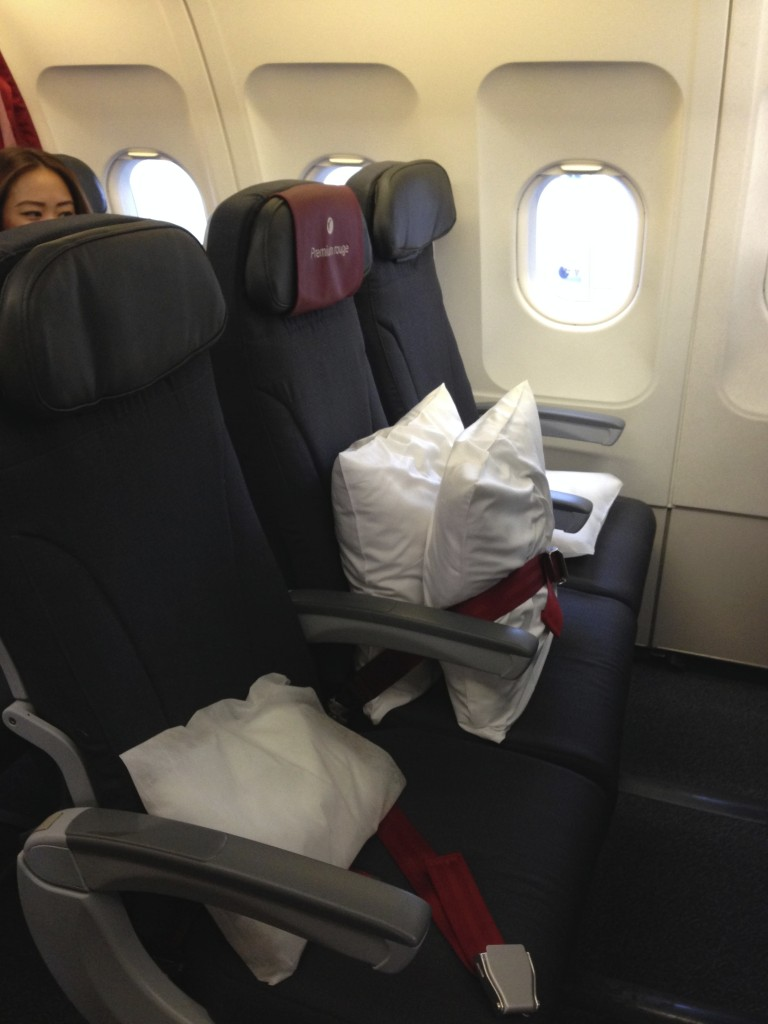 Air Canada Premium Rouge Seats