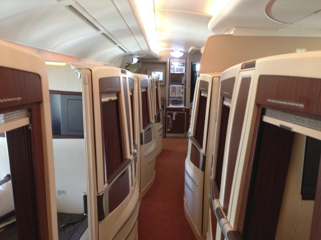 Singapore Airlines A380 Suites Aisles