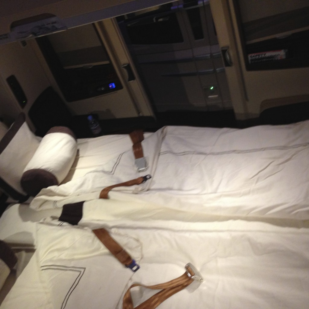 Singapore Airlines A380 Suites Double Bed