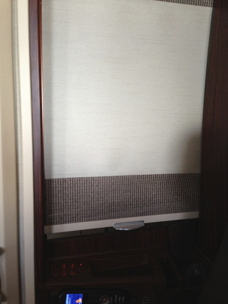 Singapore Airlines A380 Suites Shades