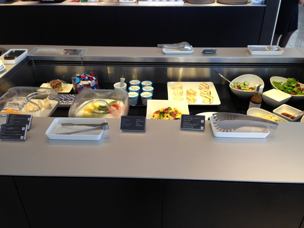 ANA Suites Lounge Tokyo Narita Breakfast