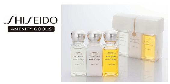 ANA Suites Lounge Shiseido Products