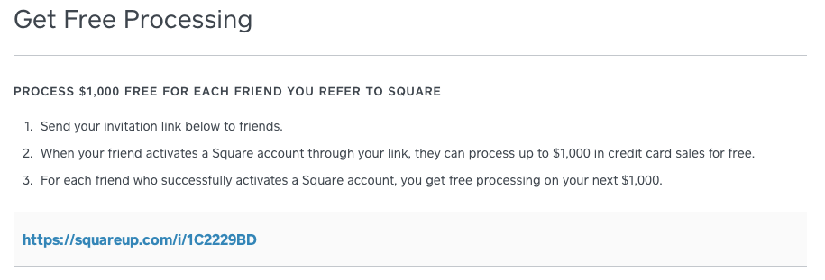 Square Referral