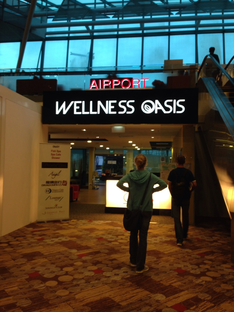 Singapore Changi Airport Wellness Oasis