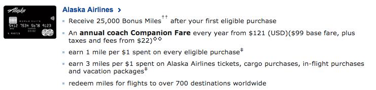 Alaska Airlines Mastercard (Canada)