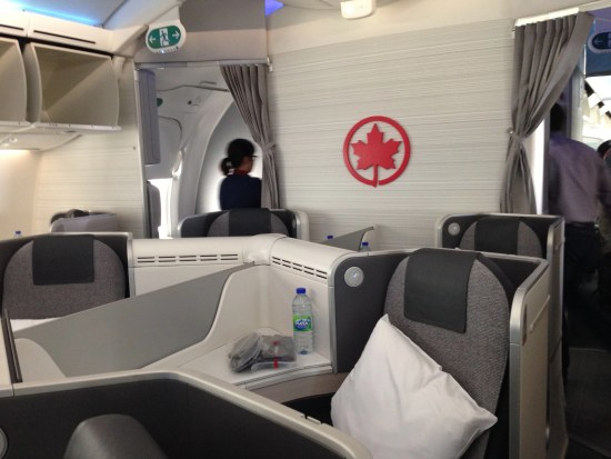 Transfer SPG for Air Canada Business Class