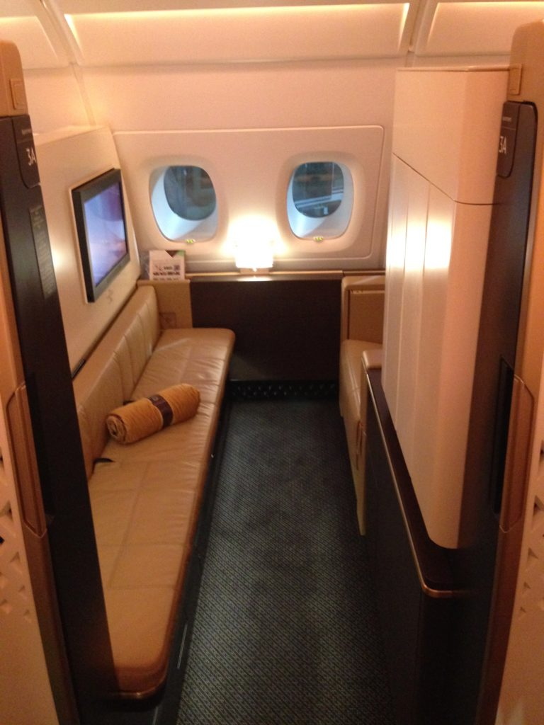 Etihad Apartments First Class A380
