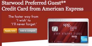 SPG American Express - 25,000 Miles (Increased)