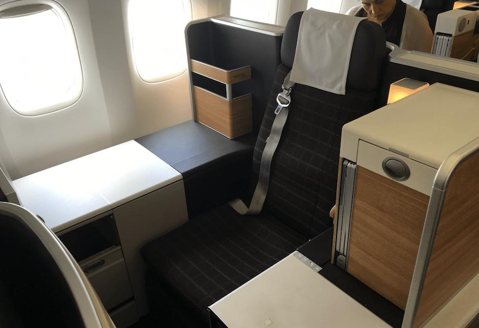 Aeroplan Redemption - Swiss Business Class