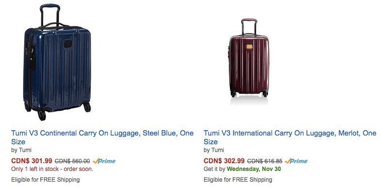 c8fd619ca1266 Early Cyber Monday Deal  Tumi Carry-On for  200! Hurry! - Canadian ...
