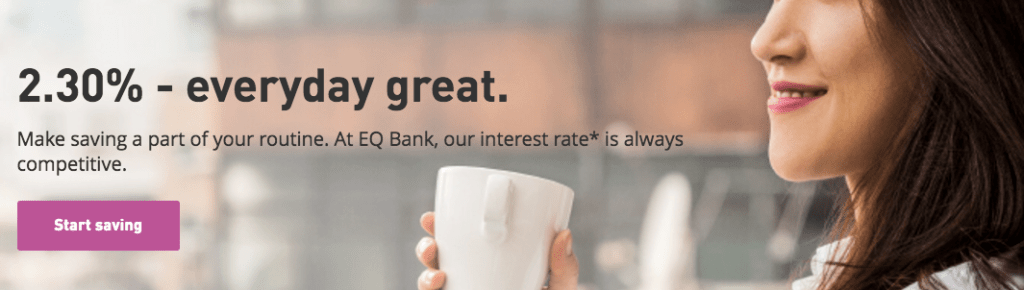 EQ Bank Review - High Interest Rate