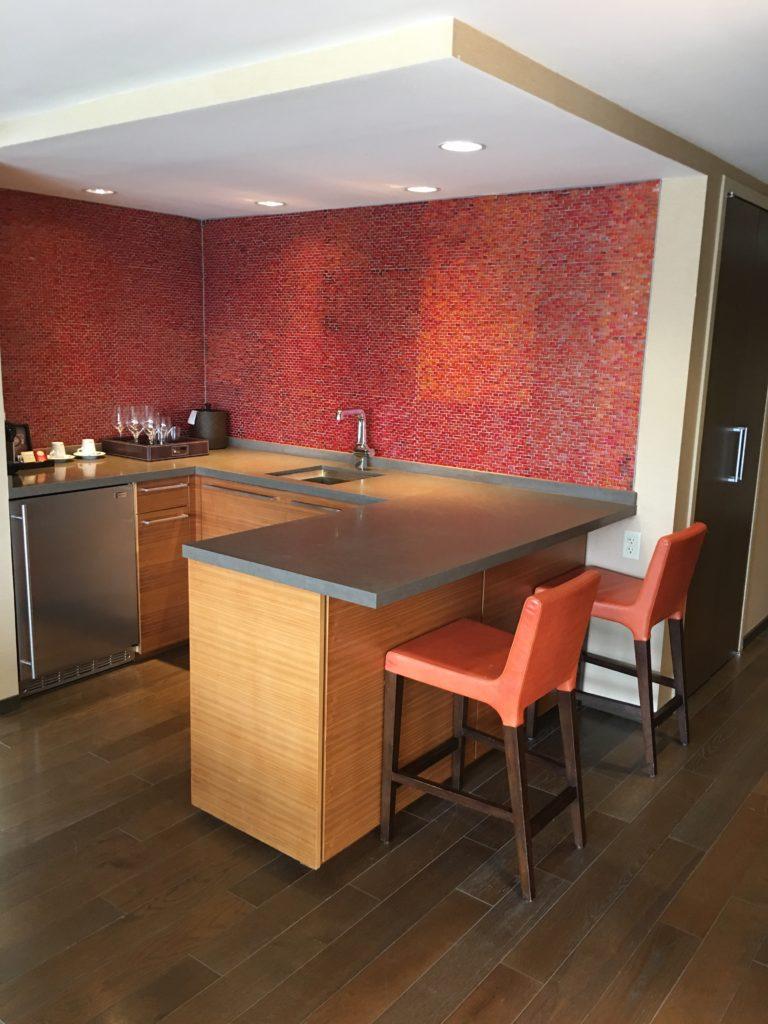 Hyatt Regency Jersey City Review - Kitchenette