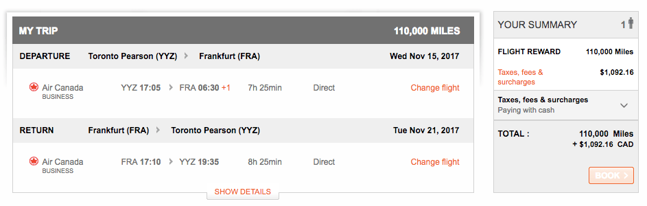 Air Canada Fuel Surcharge