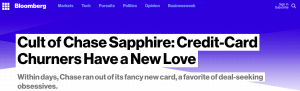 The Chase Sapphire Reserve Cult