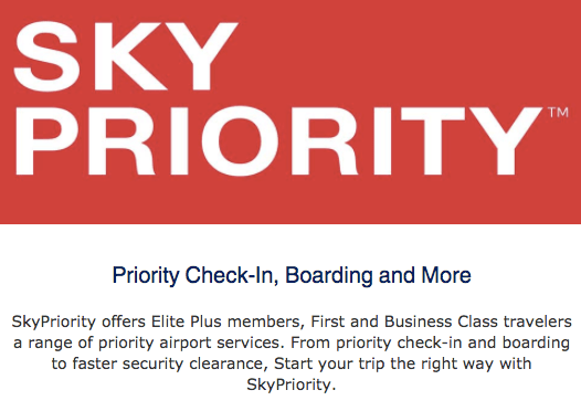 Skyteam Elite Plus Benefits - Skypriority