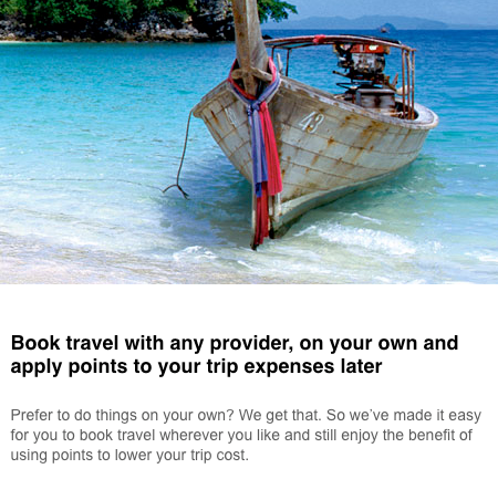 Scotiabank AMEX Gold - Redeem Points for Travel