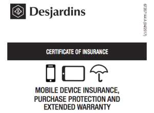 Cell Phone Insurance Protection - Desjardins