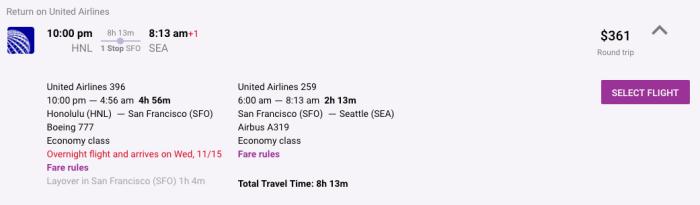 Upside Travel - Itinerary
