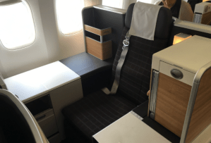 Swiss Int'l Airlines Business Class