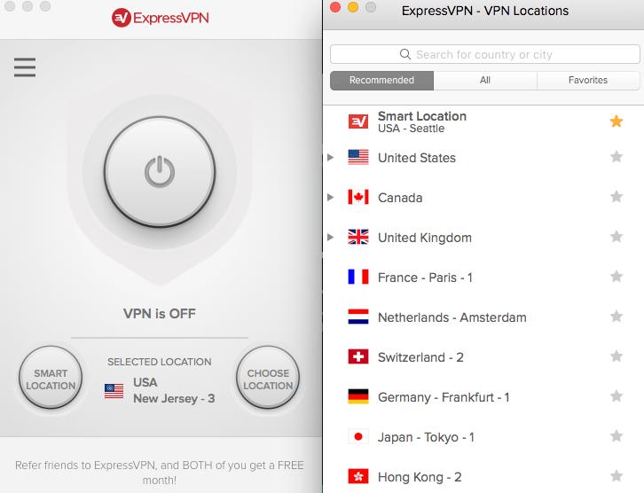 Best Travel VPN - ExpressVPN