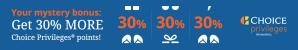 Buy Choice Points - Earn up to a 50% Bonus!