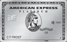 American Express Platinum - Metal Credit Card