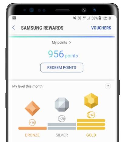Samsung Rewards - Samsung Gear S3