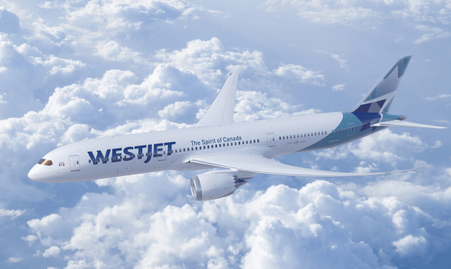 Source: WestJet Media Relations